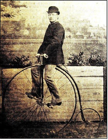 Der erste Radfahrer in Nürnberg, Christian Joachim Vogel
