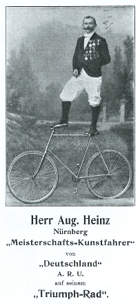 Heinz, August, Nürnberg, Kunstfahrer (1904)
