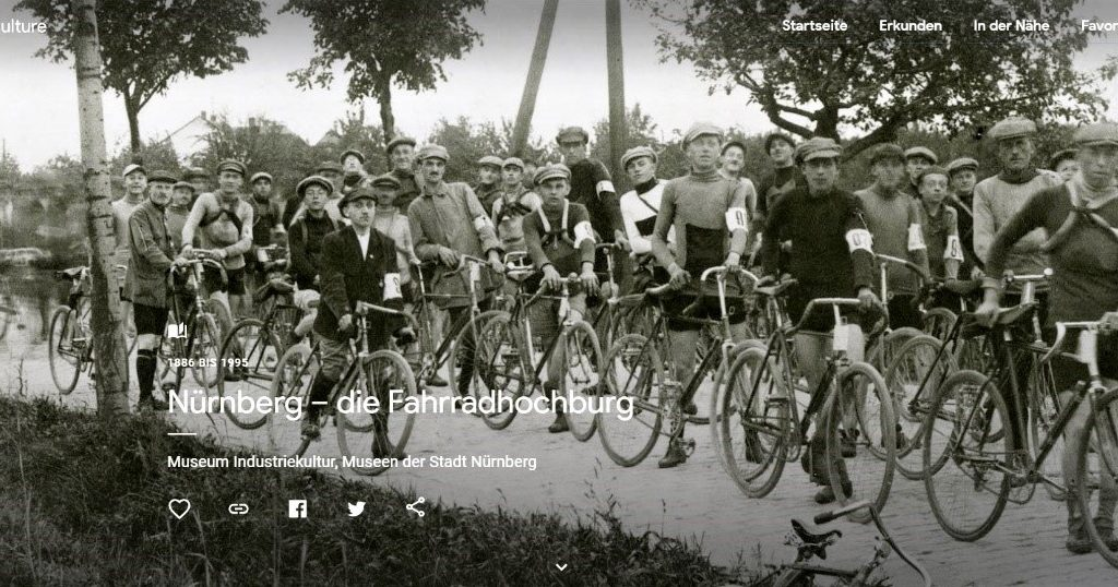 Nürnberg - die Fahrradhochburg 1886 bis 1995