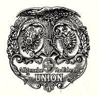 Wappen der Allgemeinen Radfahrer-Union, gegründet 1886