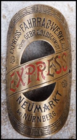 Steuerkopfschild Express