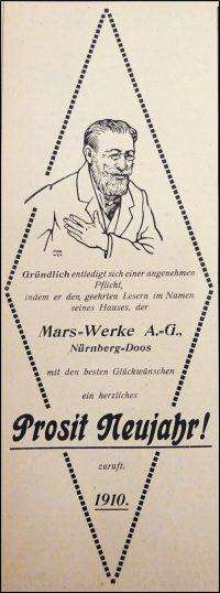 Mars-Werbung 1909, Bild 4