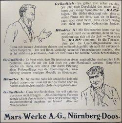 Mars-Werbung 1909, Bild 5