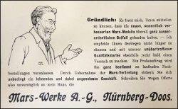 Mars-Werbung 1909, Bild 6