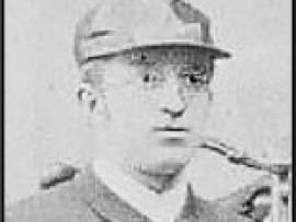 Carl Marschütz 1885 im Alter von 22 Jahren