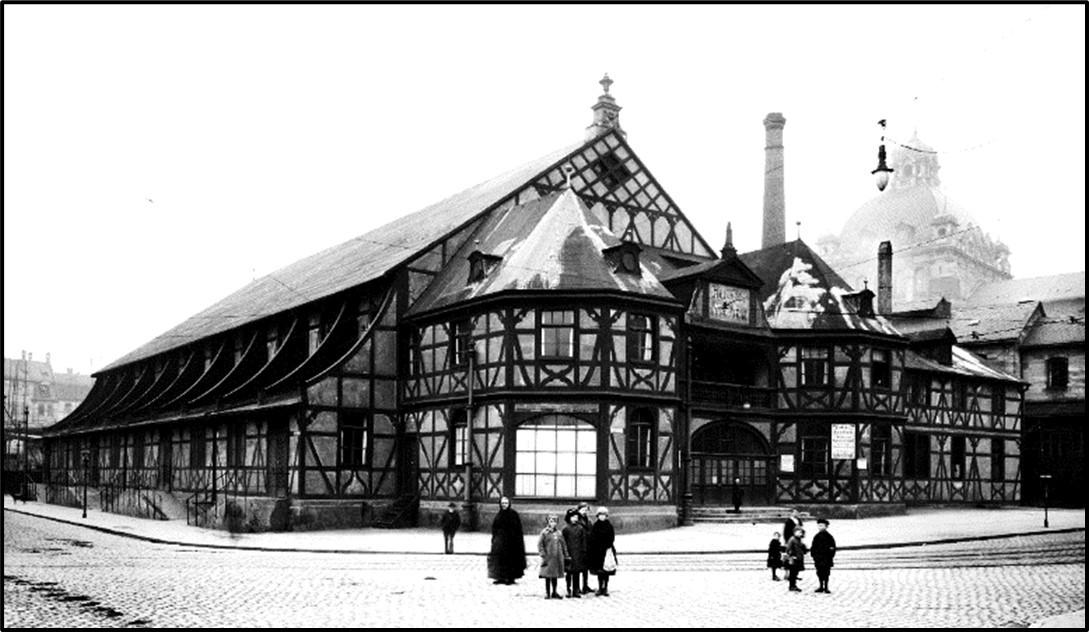Das Hercules-Velodrom in Nürnberg