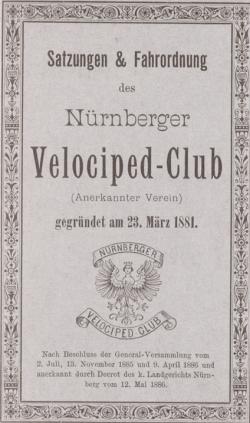 Satzungen des NVC